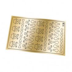 Freedecor, Металлизированные наклейки №183, золото