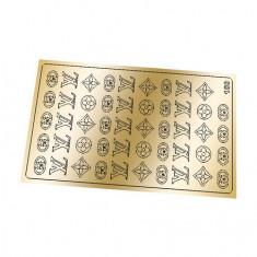 Freedecor, Металлизированные наклейки №180, золото