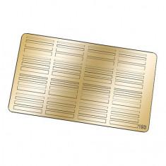Freedecor, Металлизированные наклейки №193, золото