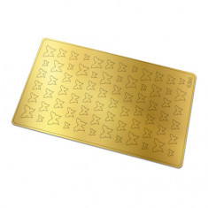 Freedecor, Металлизированные наклейки №124, золото