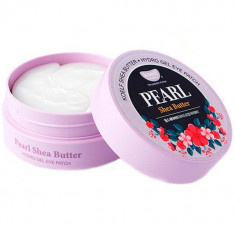 Koelf Патчи для глаз гидрогелевые Жемчуг и масло ши Pearl & Shea Butter Hydrogel Eye Patch 60шт