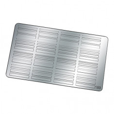 Freedecor, Металлизированные наклейки №193, серебро