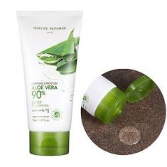 Гель для душа с экстрактом алое NATURE REPUBLIC Soothing & Moisture Aloe Vera Body Shower Gel 150мл