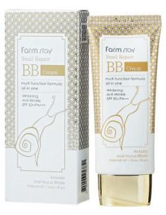 BB-крем Восстанавливающий с улиточным муцином FarmStay Snail Repair BB Cream SPF50+/PA+++