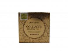 3W CLINIC Патчи гидрогелевые для глаз с коллагеном и золотом премиум / Collagen & Luxury Gold 60 шт