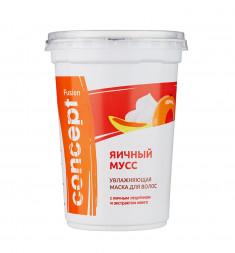 CONCEPT Маска увлажняющая с экстрактом манго Яичный мусс / Fusion 450 мл