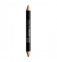 NYX PROFESSIONAL MAKEUP Контурирующий карандаш Micro Contour Duo Pencil - Medium Deep 03