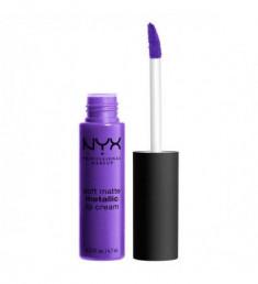 NYX PROFESSIONAL MAKEUP Матовая жидкая помада Soft Matte Metallic Lip Cream - Havana 05