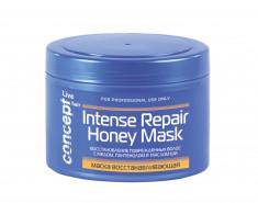 CONCEPT Маска восстанавливающая с медом для сухих и поврежденных волос / LIVE HAIR Intese repair Honey masк 500 мл