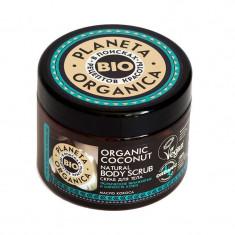 Планета органика Organic coconut скраб для тела натуральный кокосовый 420 г Planeta Organica