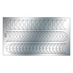 Freedecor, Металлизированные наклейки №217, серебро
