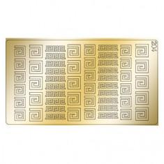 Freedecor, Металлизированные наклейки №204, золото