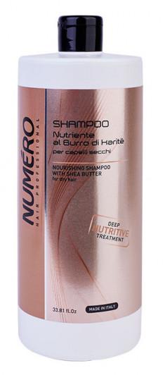 BRELIL PROFESSIONAL Шампунь с маслом карите для сухих волос / Numero 1000 мл