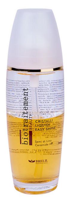 BRELIL PROFESSIONAL Блеск для волос двухфазный Жидкие кристаллы / Biotraitement Beauty 125 мл