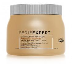 L'OREAL PROFESSIONNEL Маска с золотой текстурой для восстановления поврежденных волос / АБСОЛЮТ РЕПЕР 500 мл LOREAL PROFESSIONNEL