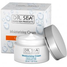 Dr.Sea Увлажняющий крем с маслами моркови и экстрактом апельсина 50мл [208]