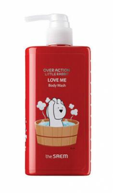 Гель для душа Over Action Little Rabbit Love Me Body Wash 300мл The Saem