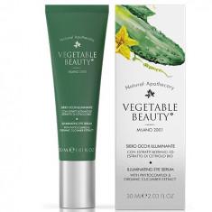 Vegetable Beauty иллюминирующая сыворотка для кожи вокруг глаз c фито-комплексом и экстрактом огурца 30 мл