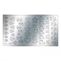 Freedecor, Металлизированные наклейки №170, серебро