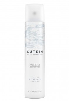 CUTRIN Лак сильной фиксации без отдушки / VIENO Sensitive Hairspray Strong 300 мл