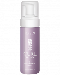 OLLIN PROFESSIONAL Мусс для создания локонов / Curls building mousse 150мл