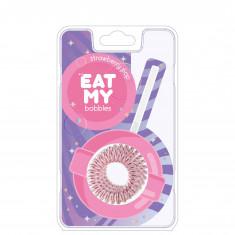 EAT MY bobbles Резинка для волос в цвете Клубничный леденец 3 шт