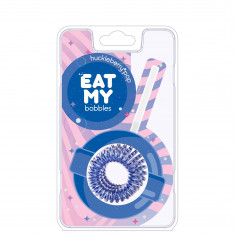 EAT MY bobbles Резинка для волос в цвете Черничный леденец 3 шт