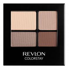 REVLON Тени четырехцветные для век 500 / Colorstay Eye 16 Hour Eye Shadow Quad Addictive 5 г