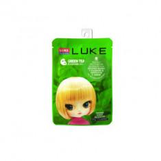Маска с экстрактом зеленого чая 4Skin LUKE Green Tea Essence Mask 21г.