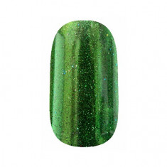 ruNail, Зеркальная пыль для втирки, зеленая