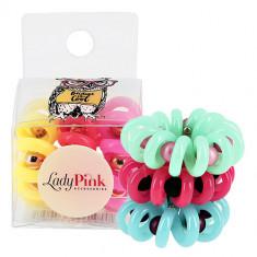 Набор резинок LADY PINK BASIC SLINKY box 3 шт