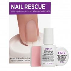 ORLY Набор Скорая ногтевая помощь (клей + пудра) / Nail Rescue Kit
