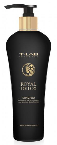 T-LAB PROFESSIONAL Шампунь для абсолютной гладкости волос / Royal Detox 750 мл