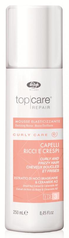 LISAP MILANO Мусс разглаживающий для вьющихся и непослушных волос / Тор Care Repair Elasticising Mousse Curly and Frizzy Hair 250 мл