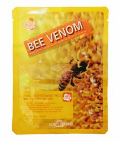 Маска тканевая с пчелиным ядом May Island Real Essence Bee Venom Mask Pack 25мл