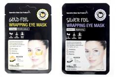 фольгированные патчи для глаз mbeauty foil wrapping eye mask