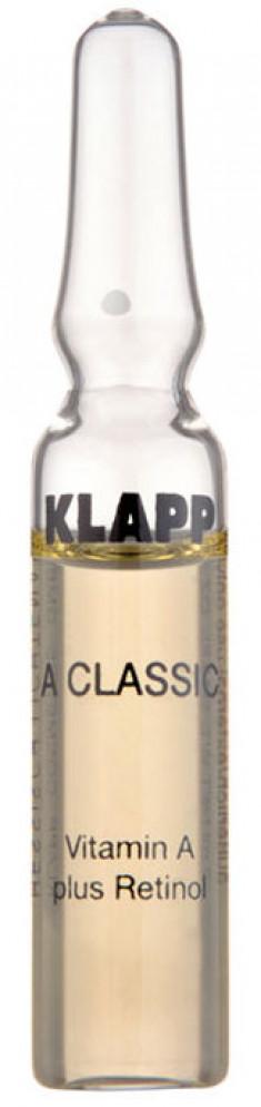 KLAPP Концентрат ампульный Витамин А + Ретинол / A CLASSIC 6*2 мл
