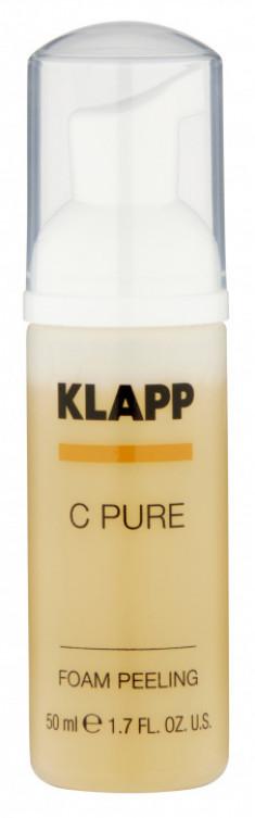 KLAPP Пилинг-пенка для лица / C PURE 50 мл