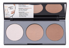 NOTE COSMETICS Палетка пудровая для контурирования лица 01 / PERFECTING CONTOURING POWDER PALETTE 3*5 г