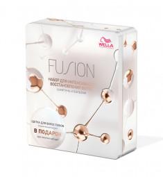 WELLA Professionals Набор для интенсивного восстановления волос (шампунь 250 мл, бальзам 200 мл) Fusion