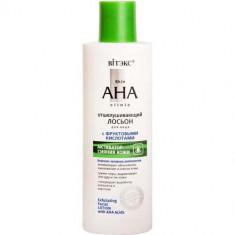 Лосьон для лица Skin AHA Clinic с фруктовыми кислотами Отшелушиващий ВИТЭКС
