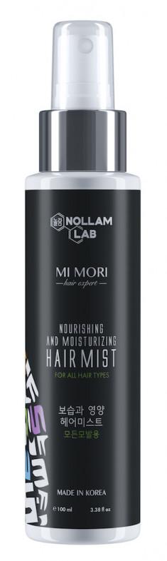 NOLLAM LAB Спрей увлажняющий и питательный для волос / MI MORI 100 мл