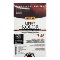 Краска для волос GUAM UPKer KOLOR Красно-медный блондин 7.46 215мл
