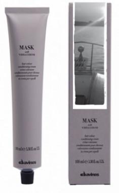 Краска для волос Davines Mask with Vibrachrom 6,22 Интенсивно-ирисовый темный блонд 100мл