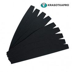 KrasotkaPro, Сменные картриджи для пилки-лодочки, черные, 240 грит, 50 шт