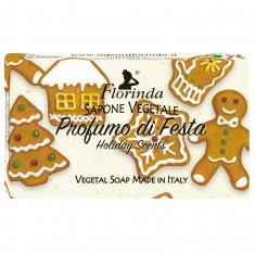 FLORINDA Мыло растительное, праздничные ароматы / Profumo Di Fiesta 100 г