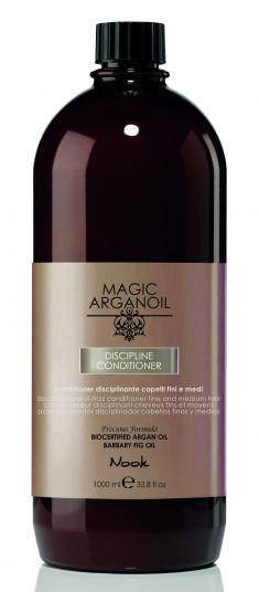 NOOK Кондиционер для ухода за тонкими и непослушными волосами / Disciplining Conditioner hair anti-frizz MAGIC ARGANOIL 1000 мл