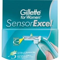 Сменные кассеты для бритья Sensor Excel GILLETTE