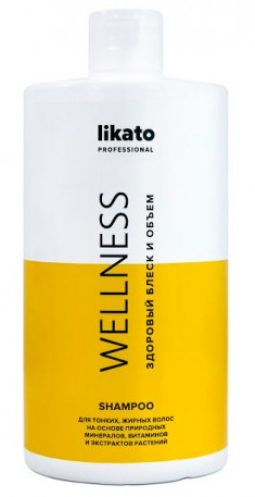 LIKATO PROFESSIONAL Шампунь минеральный с витаминами / WELLNESS 750 мл
