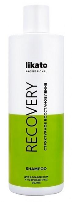 LIKATO PROFESSIONAL Шампунь с протеинами для восстановления волос / RECOVERY 400 мл